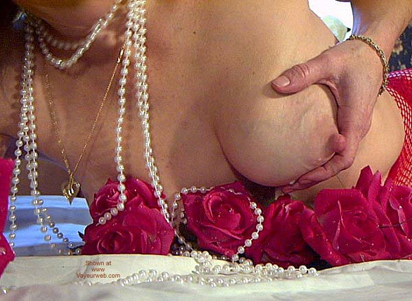 "Pic #10 - ""Tits and Roses"" Temptress Lactating"