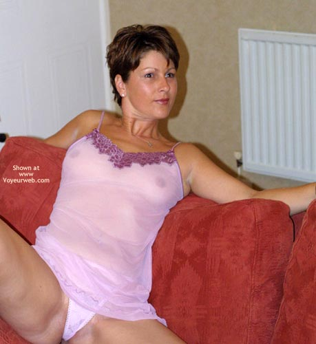 Pic #2 - British Girl Showing Some Pink!!