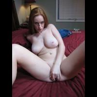MILF Fingering Pussy - Big Tits, Large Breasts, Milf, Natural Tits, Pierced Nipples