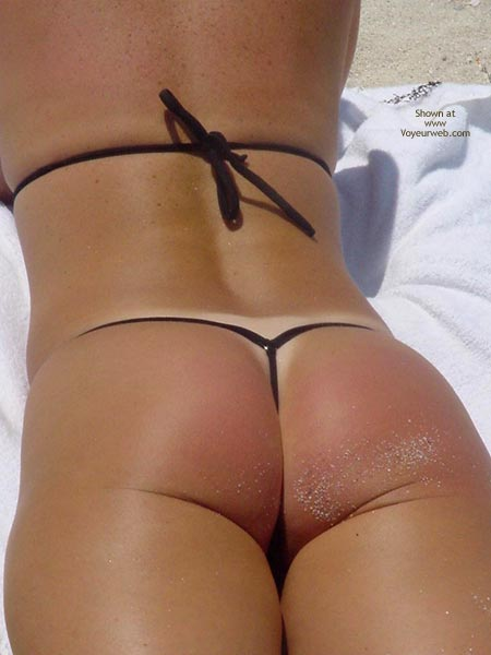 Pic #8 - Frisky  Vacation With The Thong Guy