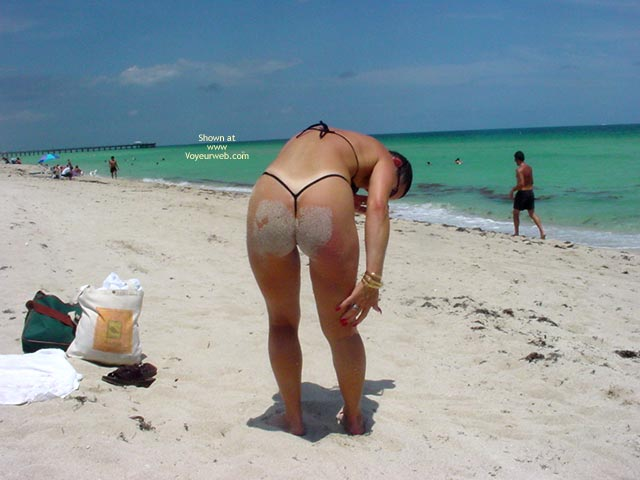 Pic #10 - Frisky  Vacation With The Thong Guy