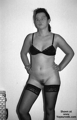 Pic #2 - Sara In Black Stockings