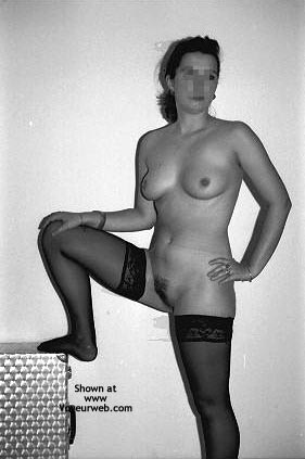 Pic #8 - Sara In Black Stockings