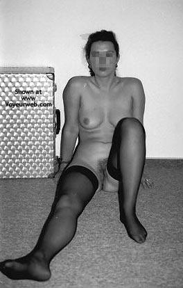 Pic #9 - Sara In Black Stockings