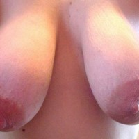 Leah'S Big Breasts And Large Nipples