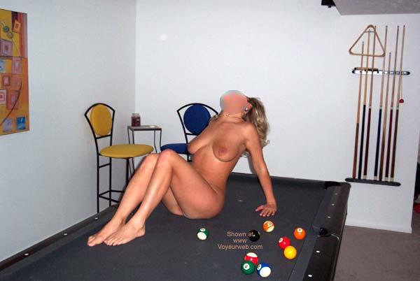 Pic #4 - Pool Table Fun