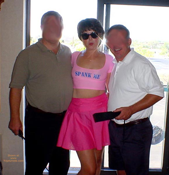 Pic #1 - Midwest Cindy  Showing Pink To Her Fans