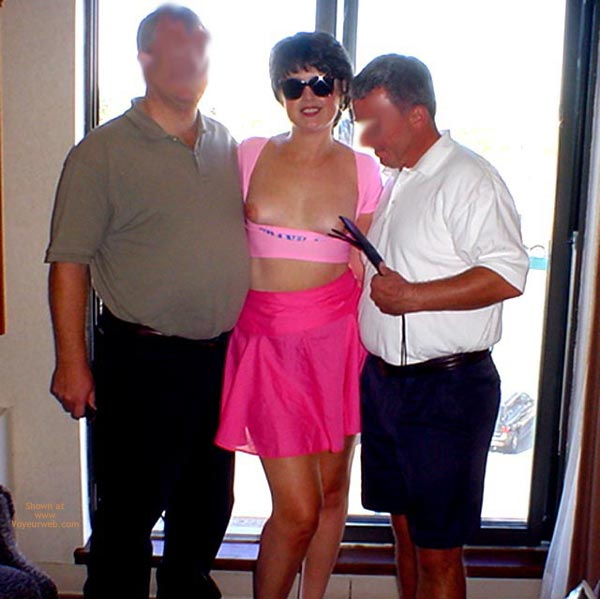 Pic #3 - Midwest Cindy  Showing Pink To Her Fans