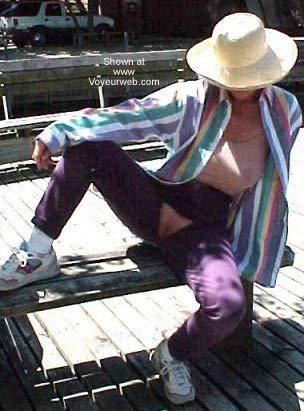Pic #8 - Erotic Fashion in Public 50+
