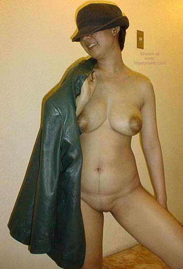 Pic #8 - Asian Dyna in a Hat and Jacket