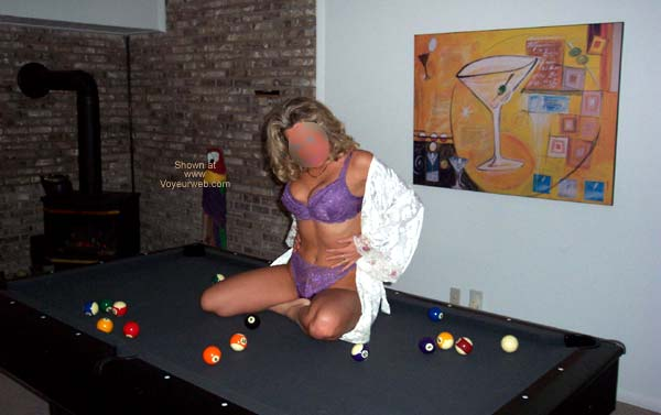 Pic #1 - On Our Pool Table 2