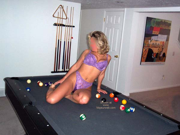 Pic #2 - On Our Pool Table 2
