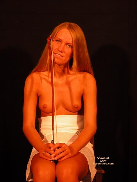 Pic #2 - Female Cello Player Plays The Solo