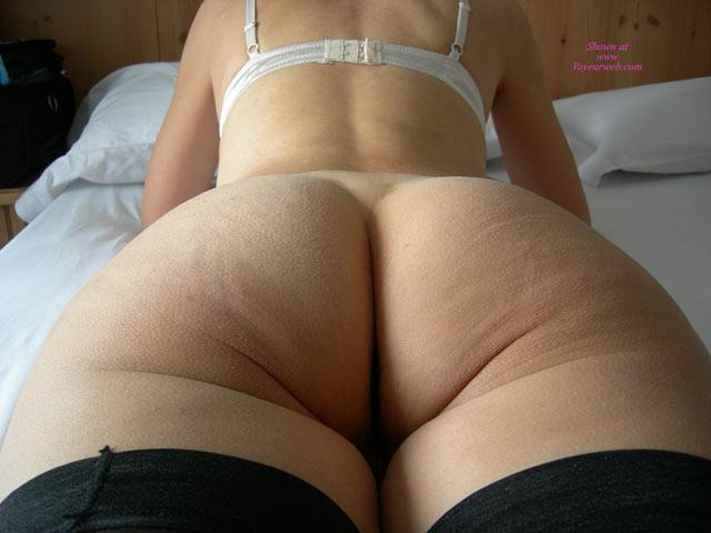 Pic #1 - My Pretty 40inch Ass , These Pics Have Been Taken During My Last Ski's Holiday In The North Italy. Do You Like My 40inch Ass?