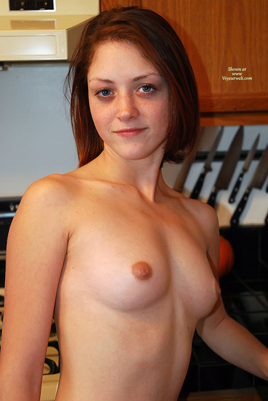 Topless Freckled Young Lady - Blue Eyes, Brown Hair, Perky Tits, Topless, Naked Girl, Nude Amateur , Sexy Red Head, Topless In Kitchen, Sexy Body, Kitchen Nudity, Pretty Face, Puffie Nipples, Indoor Tits, Nude Cook, Short Brown Hair, Perky In Kitchen, Tiny Breasts, Freckle Face Topless, Medium Round Breasts, Freckles On Face