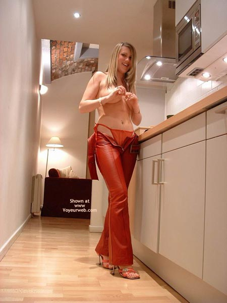 Pic #6 - Sexy In Red Leather