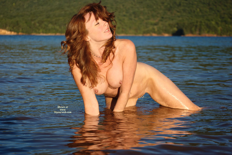 Naked Redhead In Afternoon Sun Kneeling In Water - Erect Nipples, Long Hair, Pierced Nipples, Red Hair, Shaved Pussy , Wet Skin On Hands And Knees In Lake, Perky Tight Nipples, Pierced Shaved Pussy, Outdoor Nudity, Pierced Pussy, Eyes Closed, In Sun Naked, Naked Outdoors In A Lake, Redhead Performing Water Wfi, Water Nymph With Labial Hardware, Long Red Hair