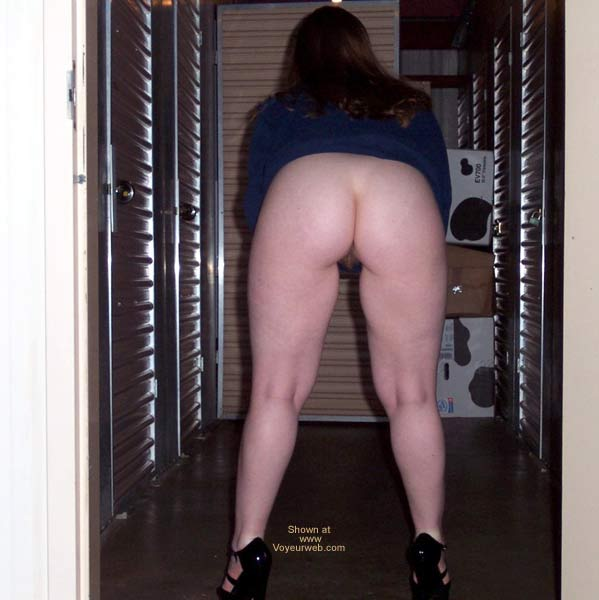 Pic #1 - Stephanie at storage