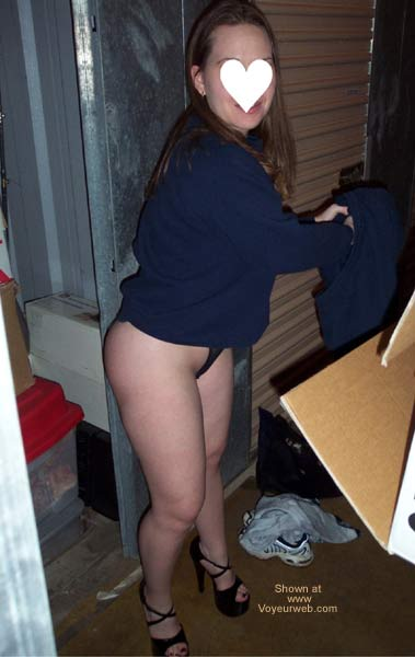 Pic #3 - Stephanie at storage