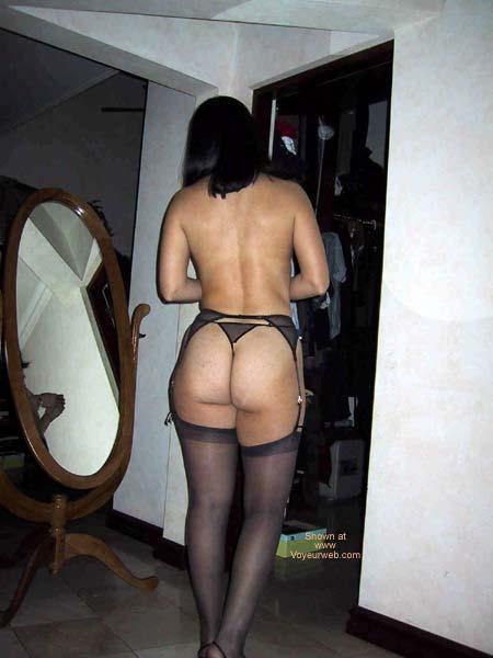 Pic #9 - A Dentist in black lingerie