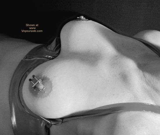 Pic #1 - OH Wife Nipple Jewelry in B&W