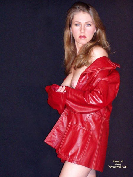 Pic #1 - Red Leather , Red Leather, Looking At You, Long Earrings