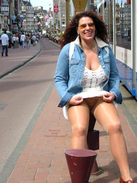 Pic #4 - Ingrid In Amsterdam