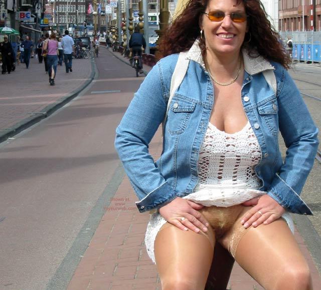Pic #5 - Ingrid In Amsterdam