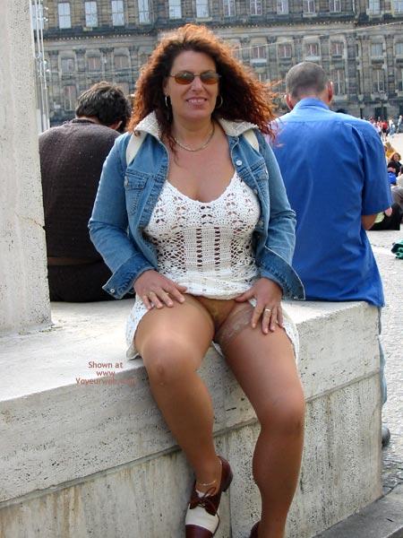 Pic #6 - Ingrid In Amsterdam