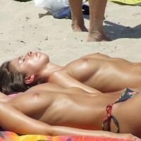 Natural Tits At The Beach - Natural Tits, Perky Tits, Small Tits, Topless Beach, Topless, Beach Tits, Beach Voyeur