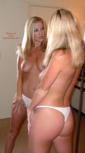 Pic #1 - Audrey In The Mirror Baby