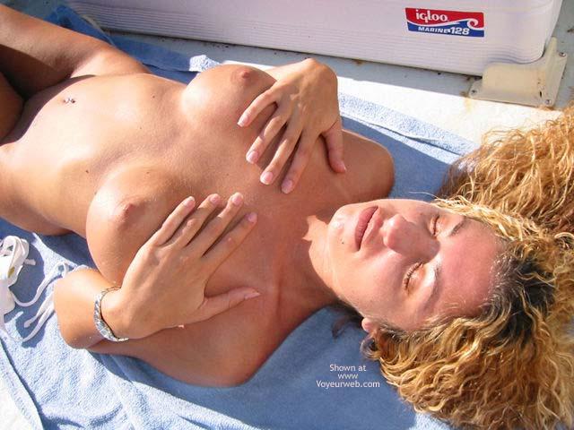 Pic #5 - Nikki Catching a Tan