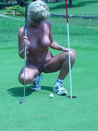 Pic #3 - Cindylo At The Golf Course