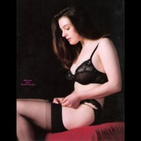 Lady In Black - Stockings