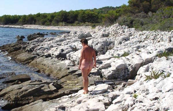 Pic #1 - Renata On Rocky Croatian Beaches