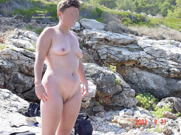 Pic #6 - Renata On Rocky Croatian Beaches