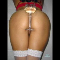 Tight Ass With A Glass