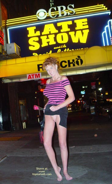 Pic #9 - Sandy Redhead Flashing In New York