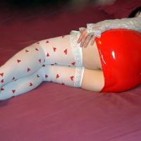 Red Pvc Dress