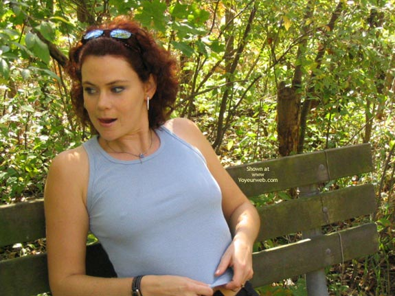 Pic #8 - Suzanne Outside Again!!!!