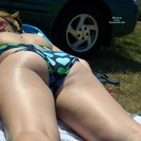 Sunbathing At The Lake