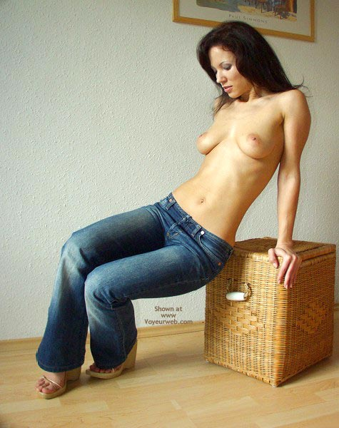Pic #3 - Angelina Jeans With Thongs