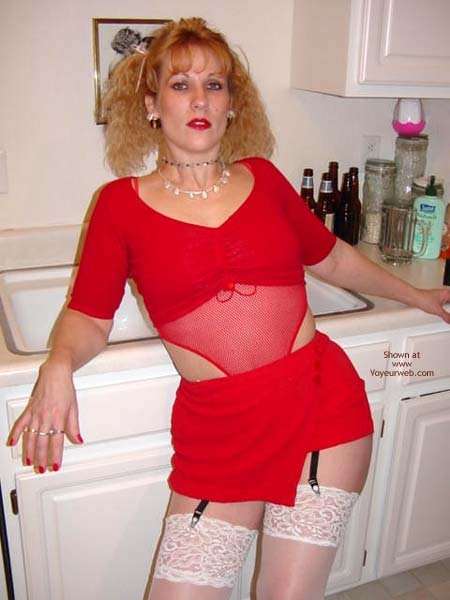 Pic #2 - Hot Bunny in Kitchen