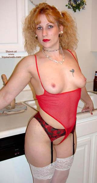 Pic #8 - Hot Bunny in Kitchen