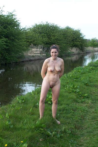 Pic #6 - Wife at Canal 2