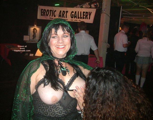 Pic #6 - *Gg Halloween Tit Licking
