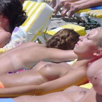 Candid Tits On The Beach - Topless Beach, Topless, Beach Tits, Beach Voyeur