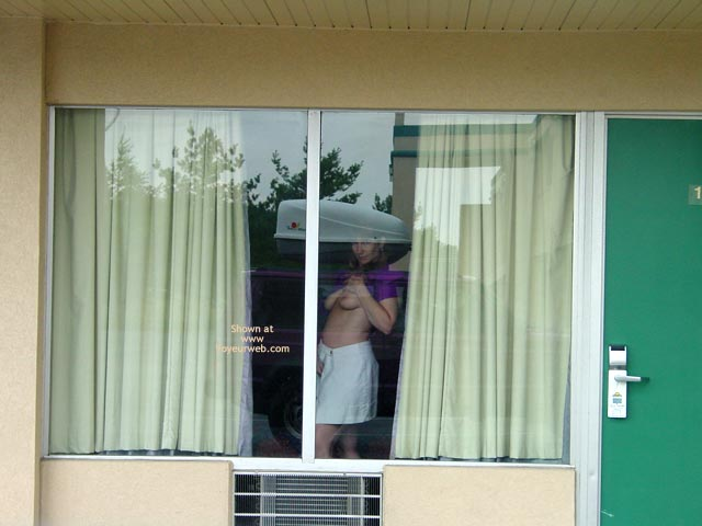 Pic #2 - Purple Patty At The Window