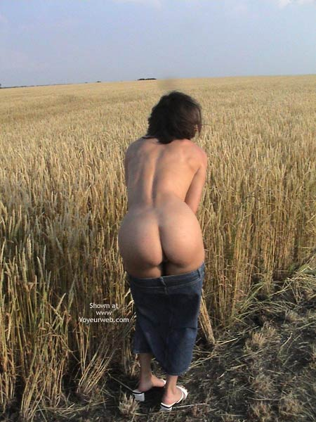 Pic #1 - Farmer's Wife Goes to Wheat Field 2