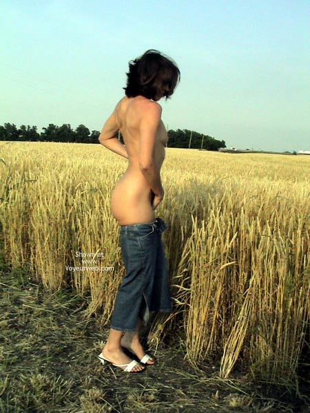 Pic #2 - Farmer's Wife Goes to Wheat Field 2